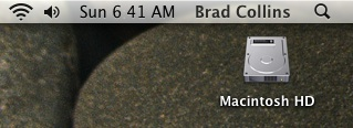 Mac Screenshot (top, left)